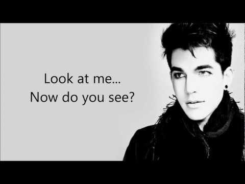 Adam Lambert - Underneath [FULL SONG] - LYRICS