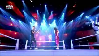 Alexandru & Caroline - Numb (Linkin Park) - Vocea Romaniei 2014 - Confruntari 3 - Editia 10