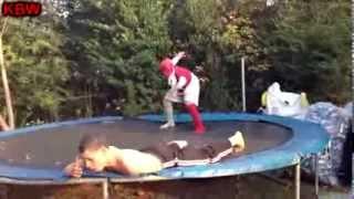 trampoline wrestling kbw kage vs bama kid gm debuts