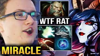 Miracle- Intense Rat Game TRY HARD MODE [Queen of Pain] Dota 2