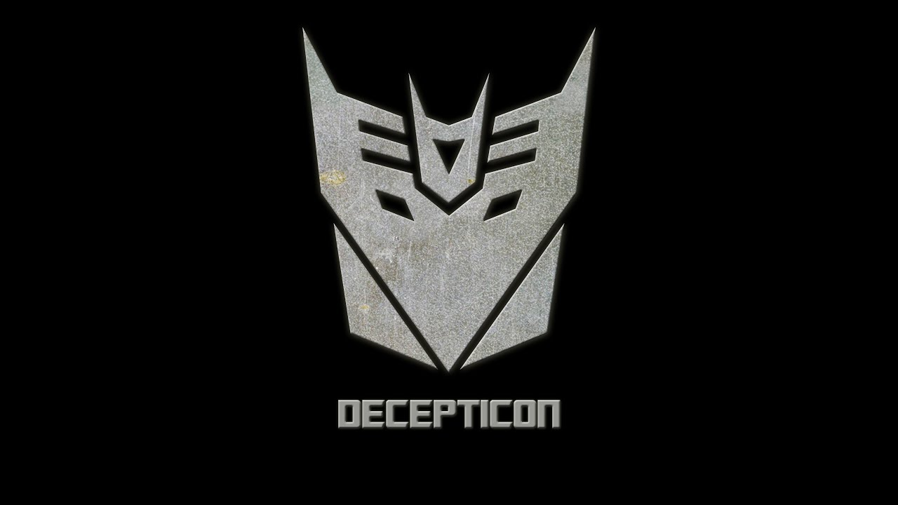 How To Draw A Decepticon Logo Using Photoshop Youtube