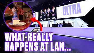 OUR FOOD IS ON FIRE!   Call of Duty League Major IV Vlog
