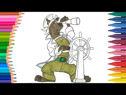 Scooby-Doo | Come disegnare e colorare per bambini | Piccole Mani Libro Da Colorare