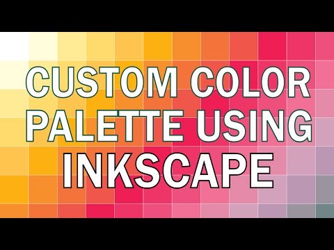 3 Easy Ways To Create Custom Color Palette Using Inkscape