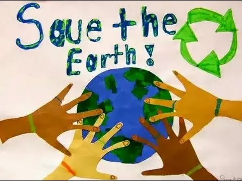 Save The Earth Motivational Posters Go Green Message Earth Day