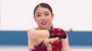 Рика Кихира Короткая программа Командный чемпионат мира по фигурному катанию 2021 года в Японии