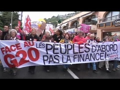 Anti-capitalist protesters descend on Cannes