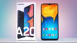 Обзор Samsung Galaxy A20. Почти Galaxy A30, но быстрее и... (review)