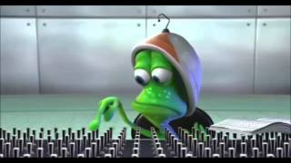 Animasi lucu alien buat lesen.