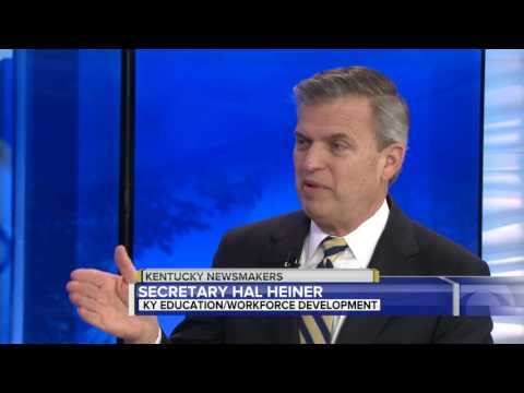 Kentucky Newsmakers 2-12-2017    Hal Heiner, Education and Workforce Development Cabinet Secretary