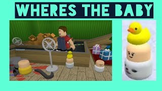 WHERES THE BABY?! // Roblox with Yan Gis Michael and Michelle