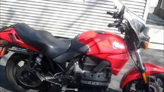 BMW K75 start up and walk around