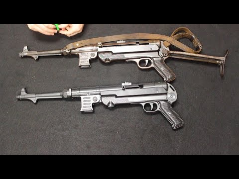 GSG MP40 9mm vs Original WWII MP40