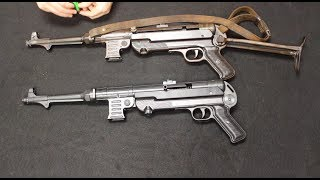 GSG MP40 9mm vs Original WWII MP40