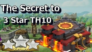 The Secret to 3 Star TH10 ~ Level 1 Bowlers ~ Low-Level Heroes TH10