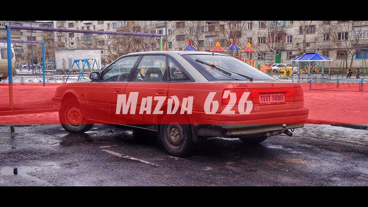 #TESTDRIVE Mazda 626 GD / 2.0 / 103HP / 1990