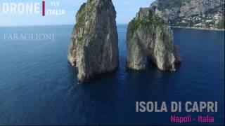 ISOLA DI CAPRI  2017 OSSERVATA DAL DRONE   ---- Isle of Capri observed by a drone