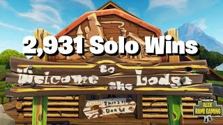 #1 Fortnite World Record 2,931 Solo Wins | Fortnite Live Stream | New Fortnite Skin