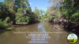 Ogeechee River House 16-Acres River Front with custom built home