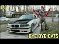 CATALYTIC CONVERTER DELETE! : BMW E36 325i Drift Build Ep. 13