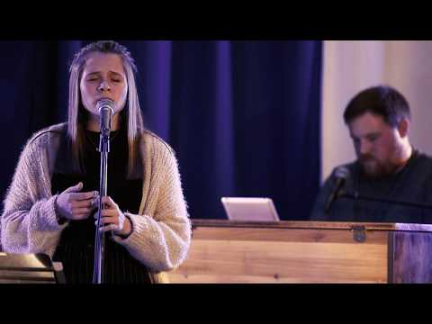 Oceans  by Hillsong United (cover) by Jensen Snyder accompanied by Kenny Stratton.