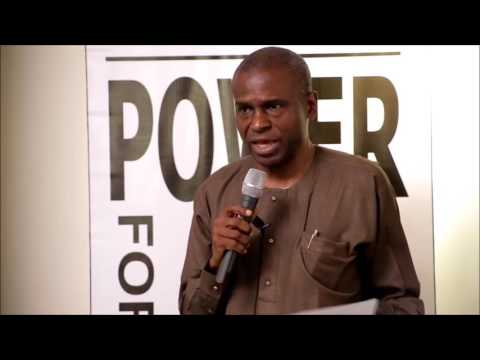 Permanent Secretary, Louis Edozien of the Ministry of Power