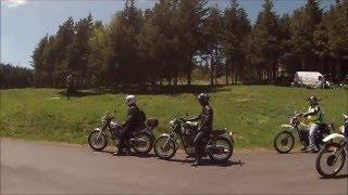 Yamaha XT 500, SR 500, rencontre Ardèche 2014. Partie 2.