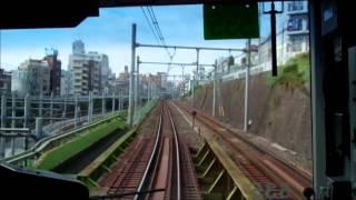 Riding Yamanote Line (山手線) Train to Ikebukuro (Tokyo Metropolis), Japan