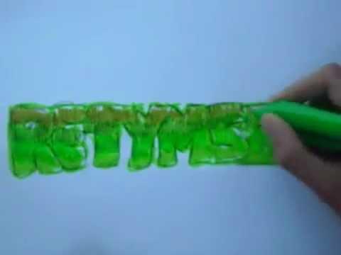 Modacalle Como dibujar tu nombre en graffiti.mp4 - YouTube