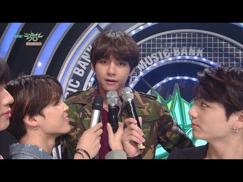 The way JIN interviewed BTS [Music Bank Ep 932]