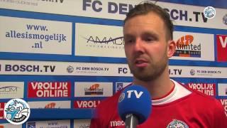 FC Den Bosch TV: Korte interviews FC Den Bosch - MVV Maastricht