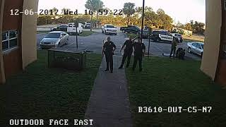 Surveillance video shows BSO deputy-involved shooting