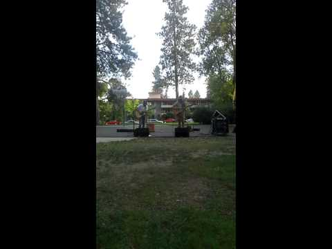 Trivial, by Dario Re' performed in Coeur d'Elene Park, Spokane, Washington