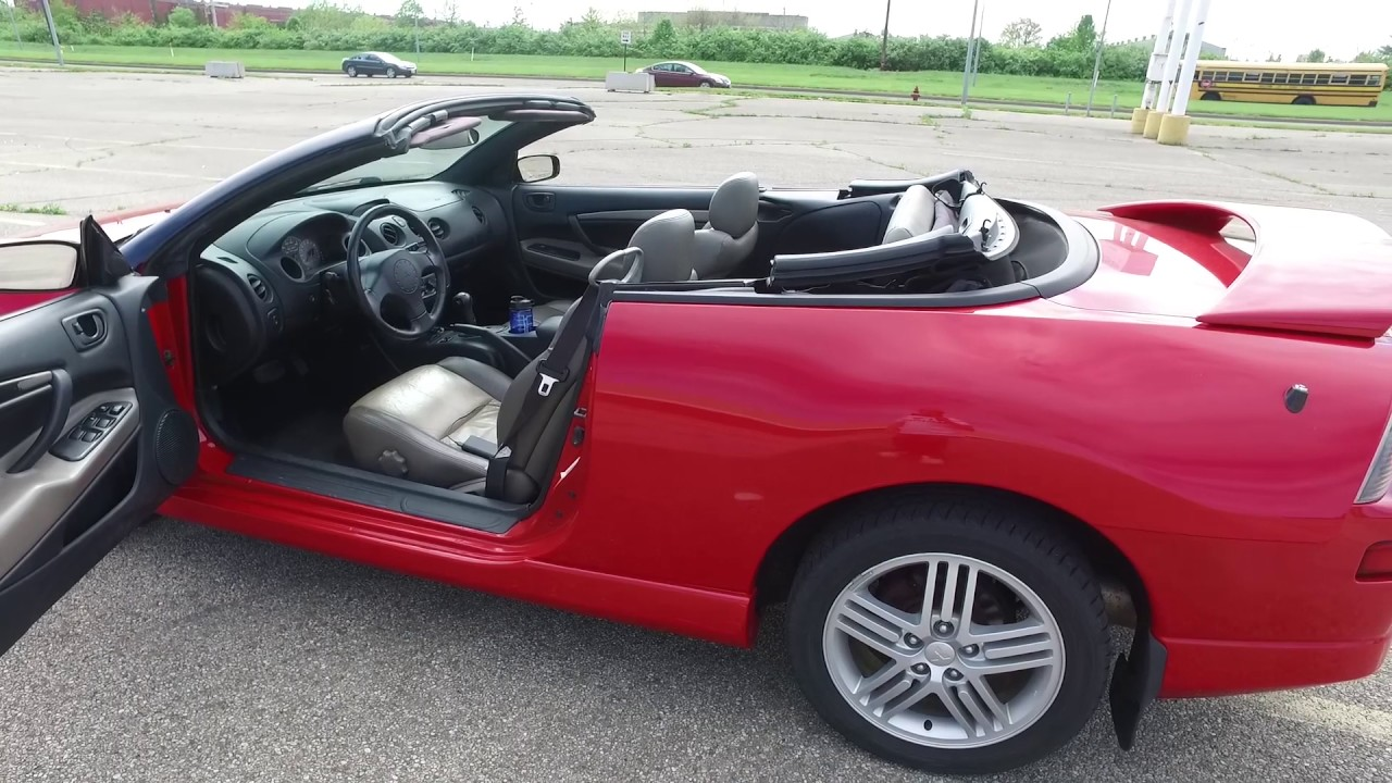 2003 Mitsubishi Eclipse Gt Spyder Walkaround Youtube