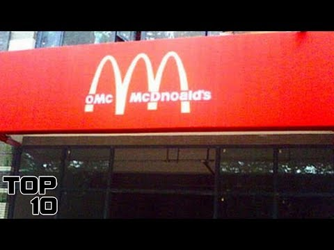 Top 10 Fake Fast Food Places That Actually Exist