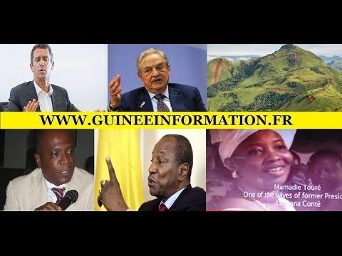 Alpha Condé, Georges Soros, Tony Blair, Beny Steinmetz, dans la bataille pour Simandou