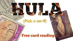 Hula (pick a card)