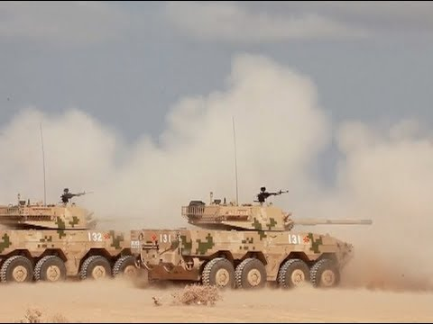 Chinese Military Launches Artillery Shooting Exercise in Djibouti