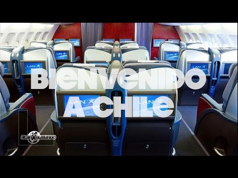 Volé en Business class!!! - Chile #1