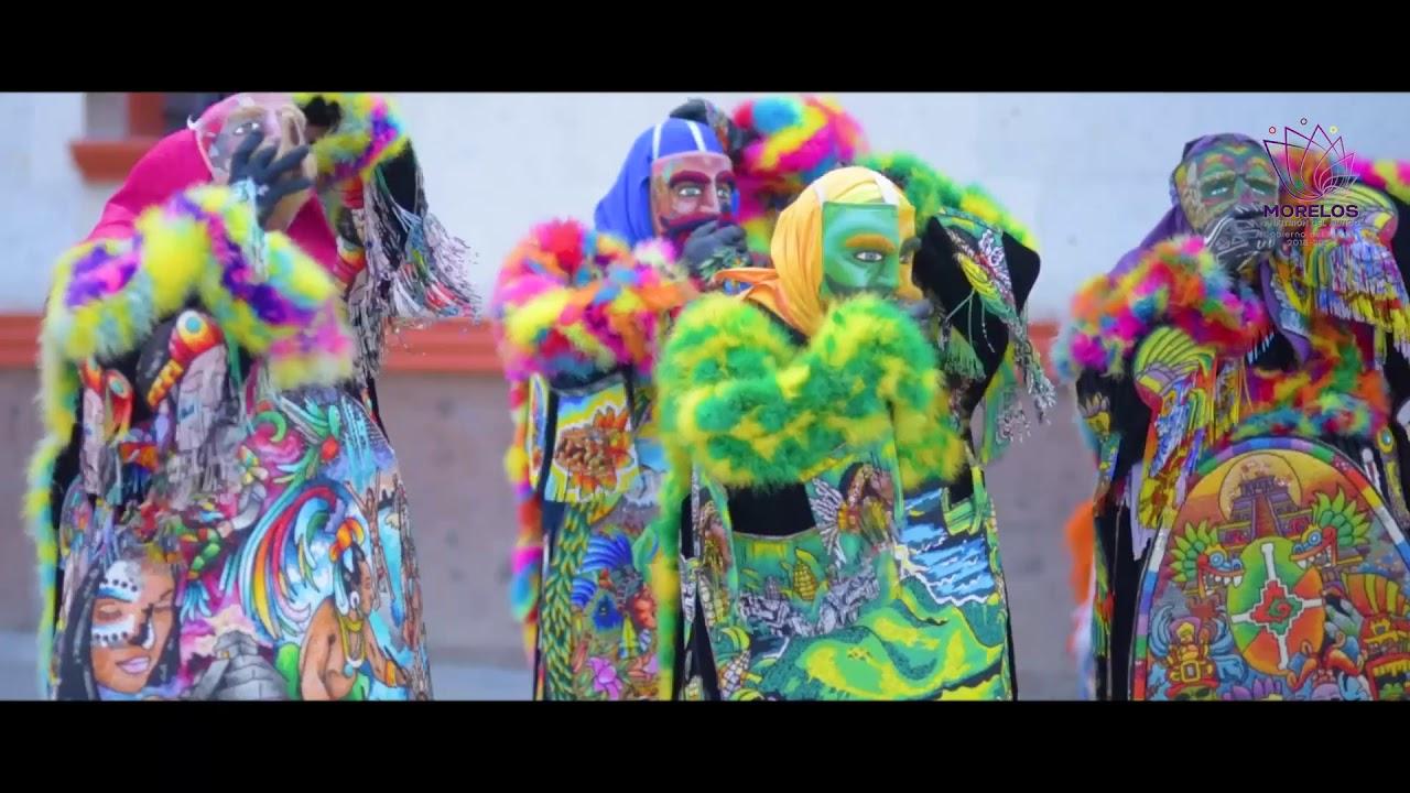 Chinelos y Carnaval en Yautepec Morelos
