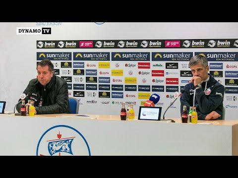 11. Spieltag | FCH - SGD | Pressekonferenz nach dem Spiel