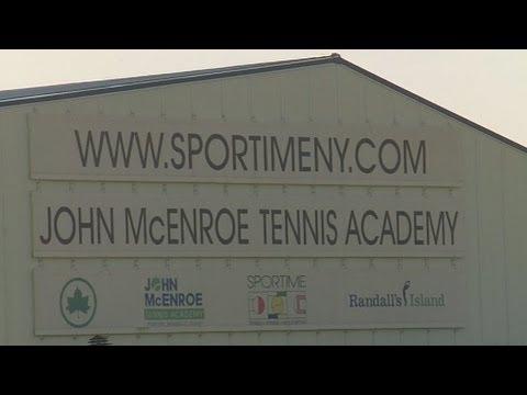 John McEnroe Tennis Academy On Randall's Island, New York