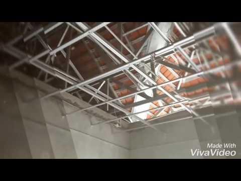Rangka Plafon Baja Ringan Minimalis Pemasangan Untuk Youtube