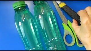 КРАСИВЫЙ ПОДАРОК МАМЕ СВОИМИ РУКАМИ из 2 Пластиковых Бутылок Идеи Поделки на 8 Марта МК.