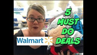 5 MUST DO WALMART DEALS 9/16 - 9/22
