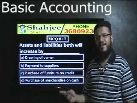 Basic Accounting MCQs