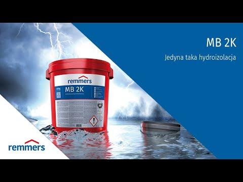 Remmers MB2K - hydroizolacja