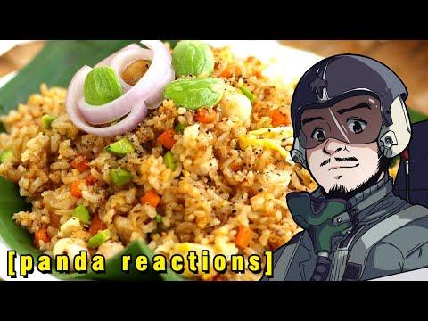 Bbc Food Egg Fried Rice Panda Reactions Youtube