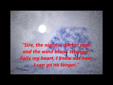 GOOD KING WENCESLAS words lyrics CHRISTMAS best top trending sing along song songs WENCESLAUS