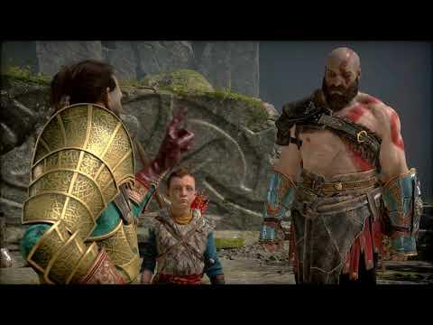 God of War 4 - La reacción de Sindri al ver el hacha Leviatán